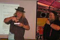 Ivan Martin Jirous na trutnovském festivalu, rok 2010.