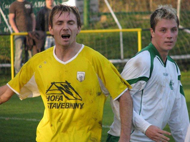 Stanislav Ježek dal v krajském přeboru osmnáct branek a je spolu s berounským Horelem druhým nejlepším střelcem soutěže.