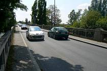 Kamenný most přes Labe v Nymburce