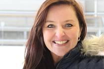 Trenérka Karolína Soukupová ze Sadské vede kurzy krasobruslení na ledě i rollerových bruslích