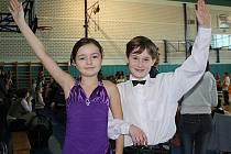 Mladý taneční pár Tereza a Jakub.