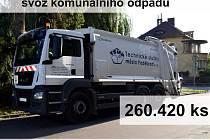Ze zprávy o činnosti Technických služeb města Poděbrady.