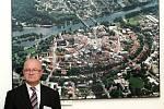 Prezident republiky Miloš Zeman navštívil ve čtvrtek Nymburk.
