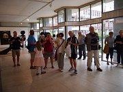 Výstava v Galerii Ludvíka Kuby je k vidění až do 3. října.