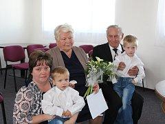 Manželé Hlavičkovi oslavili pětašedesát let společného života.