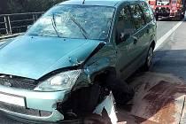 Dopravní nehoda v Poděbradech.
