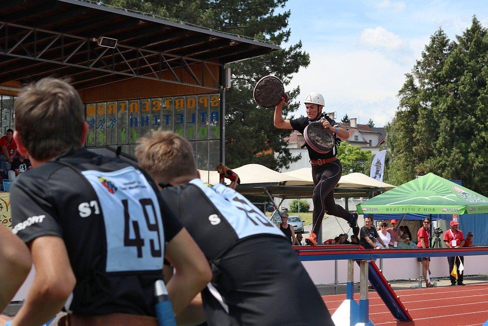 Mistrovství ČR v požárním sportu: dorostenci