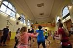 Novou sportovní disciplínu zkoušeli na Tyršově škole.
