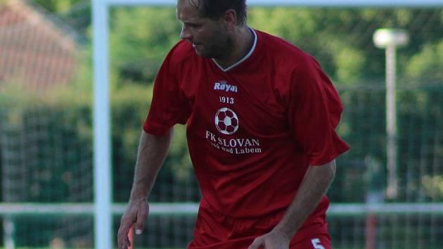 MARTIN GREGAR už odehrál v dresu Slovanu Lysá nad Labem pět stovek utkání. To je pořádná porce