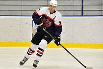 Marek Kubát, dvacetiletý hokejista poděbradského klubu