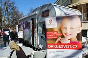 Den zdraví v režii Oborové zdravotní pojišťovny se konal v sobotu na poděbradské kolonádě.