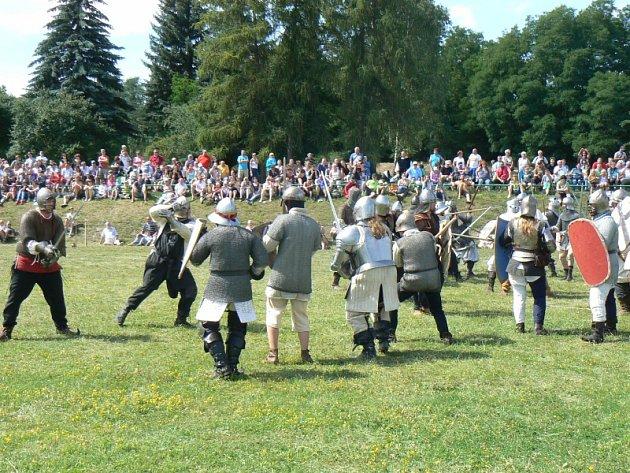 Historická bitva v Milovicích