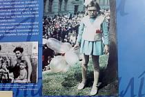 Třicet let nezávislosti Ukrajiny připomíná výstava na nymburském náměstí Přemyslovců.