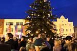 Společné rozsvěcení Vánočního stromu v roce 2019.