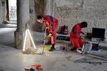 Odborníci prováděli průzkum podzemí u kaple svatého Jana Nepomuckého.