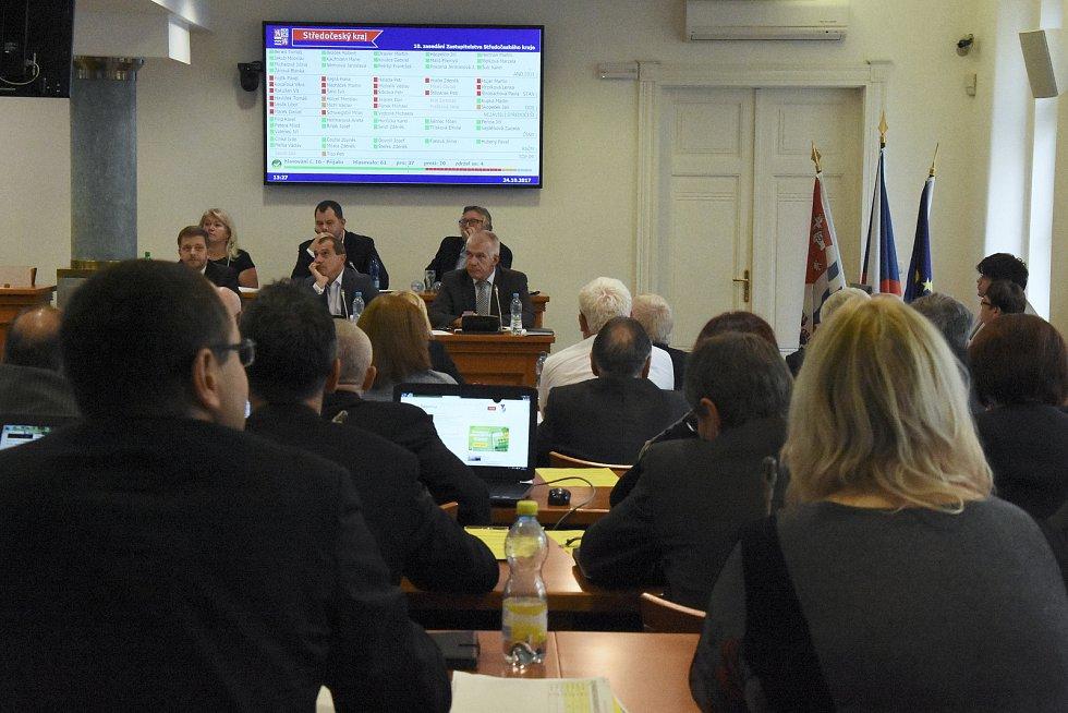 Nová koalice vládne od úterka Středočeskému kraji. Hnutí ANO vypovědělo koaliční smlouvu STAN, ODS a Nezávislým Středočechům. Dohodlo se na spolupráci s ČSSD (za niž v radě kraje nově zasedli i dva exhejtmani) – a podporuje je i KSČM.