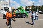 Obměna vozového i technického parku v nymburských Technických službách pokračuje.