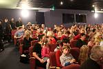 V Hálkově divadle šprýmoval Michal Nesvadba z Kouzelné školky.