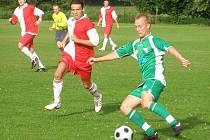 Z přípravného utkání Polaban Nymburk - Velim (0:0)
