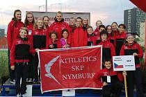 Nymburská atletická výprava v Brně