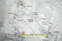 Silnice mezi Krchleby a Straky bude uzavřena.