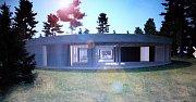 Futuristický dům má vyrůst v Kersku v příštím roce.