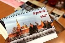 Kalendář Nymburka na příští rok.