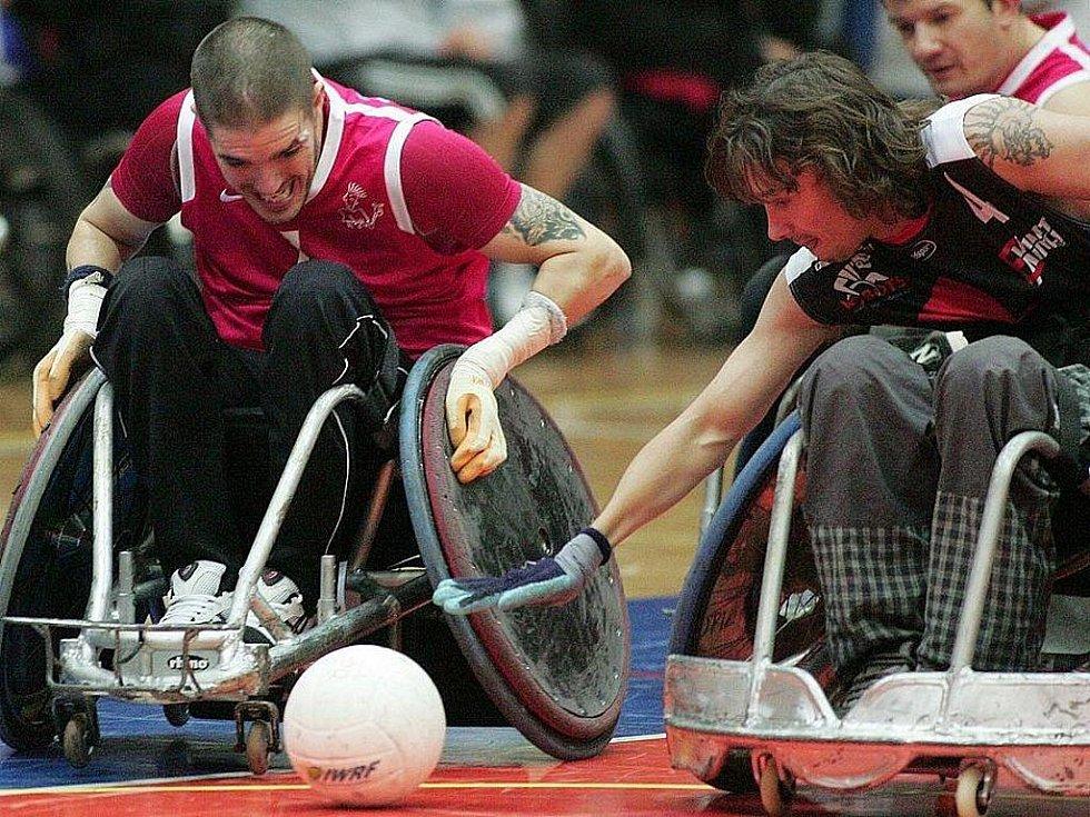 Z 11. ročníku nymburského turnaje ve vozíčkářském ragby.
