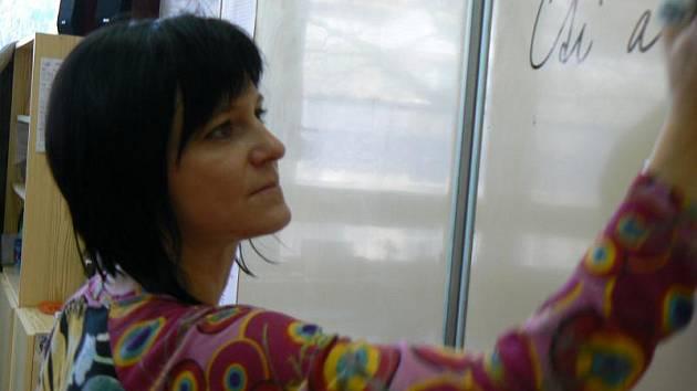 Lenku Grosslovou nominovali do soutěže Zlatý Ámos její žáci ze čtvrté třídy