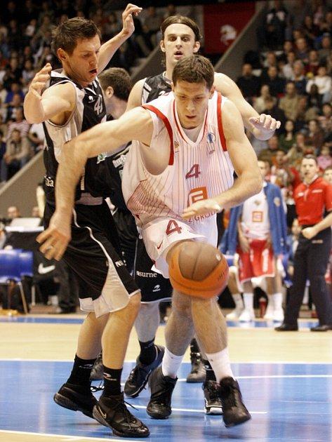 Basketbalisté Nymburka sehráli další utkání Eurocupu na palubovce Bilbaa