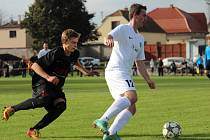 Z fotbalového utkání I.B třídy Libice - Stará Boleslav (5:0)