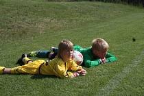 Fotbal proti mladým Němcům
