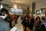 Výstava obrazů a plastik v Poděbradech potrvá do konce března.