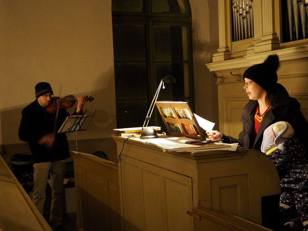 Koledy se zpívaly také v Libici nad Cidlinou.