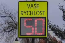 Informační měřiče rychlosti by se měly objevit už do prázdnin i v Pňově - Předhradí.