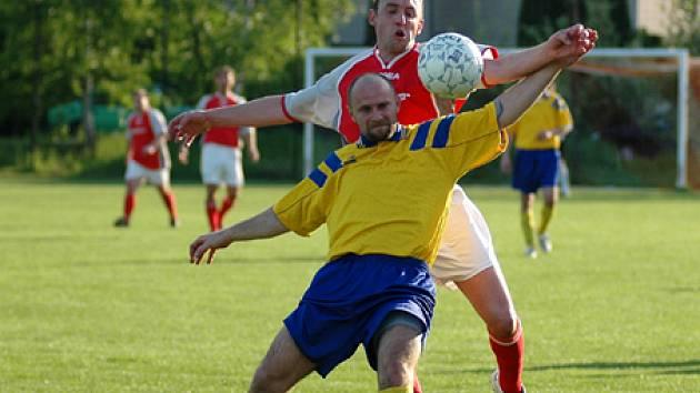 Ze zápasu Kounice - Tuchoraz (2:0).