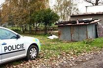 Mrtvého muže našli v boudě u hřiště v Kamenném Zboží