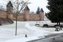Tolikrát jako během letošní zimy neviděli obyvatelé Nymburka sníh už řadu let nazpět.