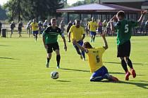 Z fotbalového utkání divize Polaban Nymburk - Neratovice/Byškovice (5:0)