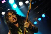 Hlavní hvězdy večera, skupina Iron Maiden