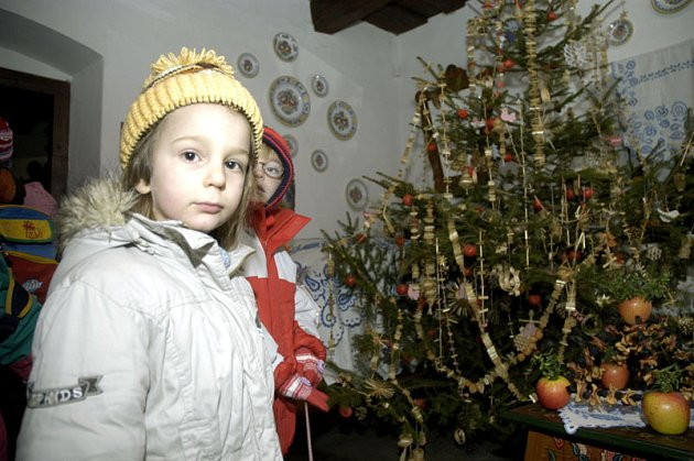 V Polabském národopisném muzeu mají už od 1. prosince Vánoce.