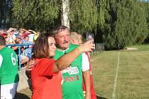 V Jíkvi oslavili 100 let fotbalu.