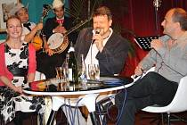 Anna Polívková a Jan Petroušek při Večeru v klubu