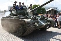 Oslavy dvacátého výročí odchodu sovětských vojáků z Milovic