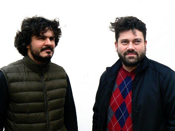 Autoři projektu Jan Červinka (vlevo) a Jan Chrtek