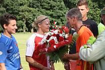 V Kostelní Lhotě oslavili 95 let o začátku sportovních aktivit v obci.