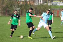Z fotbalového utkání divizní skupiny B Polaban Nymburk - Chomutov (3:0)