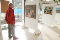 Výstava Pavla Machotky v Galerii Ludvíka Kuby.