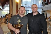 Pavol Demčák (vpravo) ve společnosti Ivaylo Hristova z Bulharska.