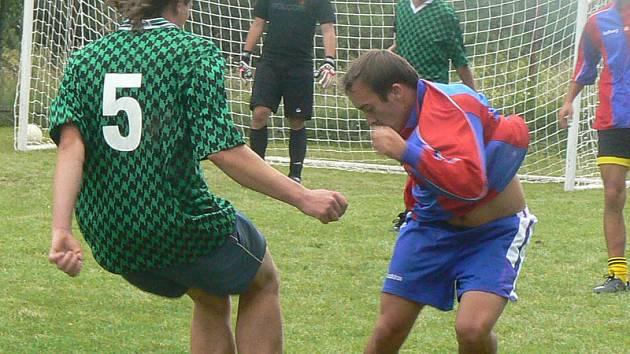Finálový zápas rozhodli až pokutové kopy.